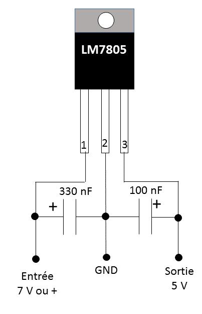 u00c9lectronique en amateur  utilisation d u0026 39 un r u00e9gulateur de