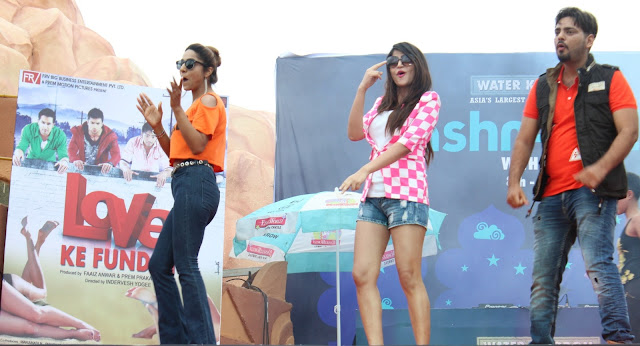 Water Kingdom celebrates Jashn-e-Eid with the star cast of 'Love ke Funday'