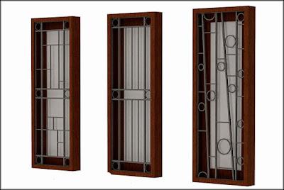 gambar teralis jendela minimalis 2