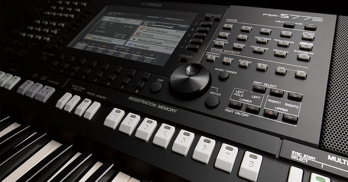 Tổng cộng 210 nhịp điệu cài sẵn bao gồm nhiều thể loại âm nhạc