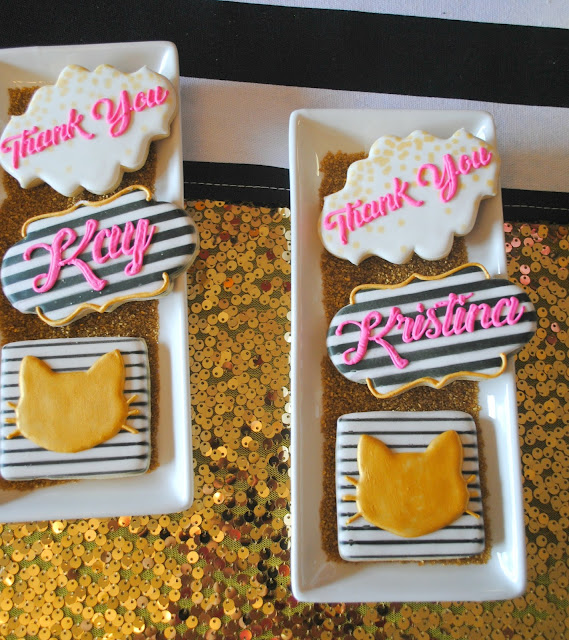 Cookies by Creating Awesomenesssity for Fizzy Party's BFF party