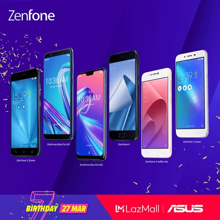 ASUS Joins Lazada's 7th Birthday Sale