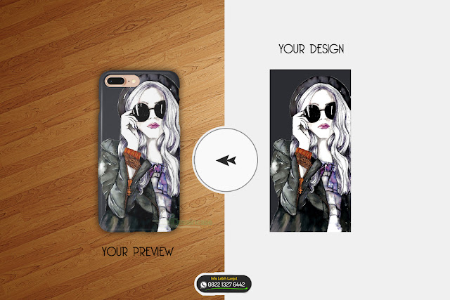 Download Mockup Custom Case Preview Dan Desian Mentahan gubuk hijau