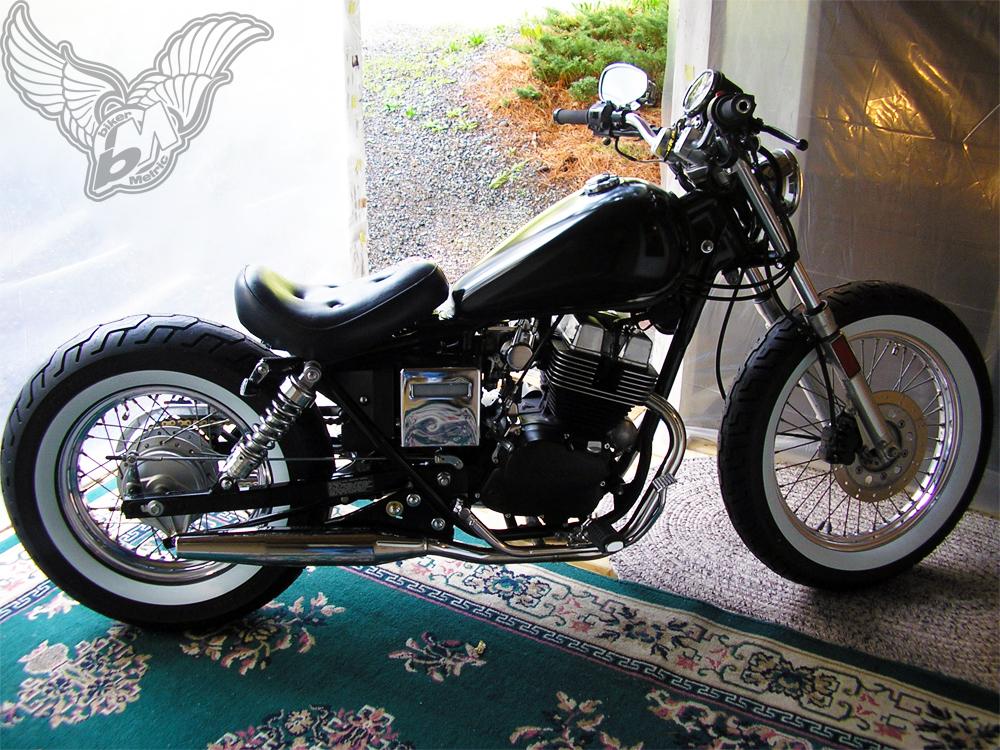 reader rides | frank's 1986 honda rebel bobber - bikermetric