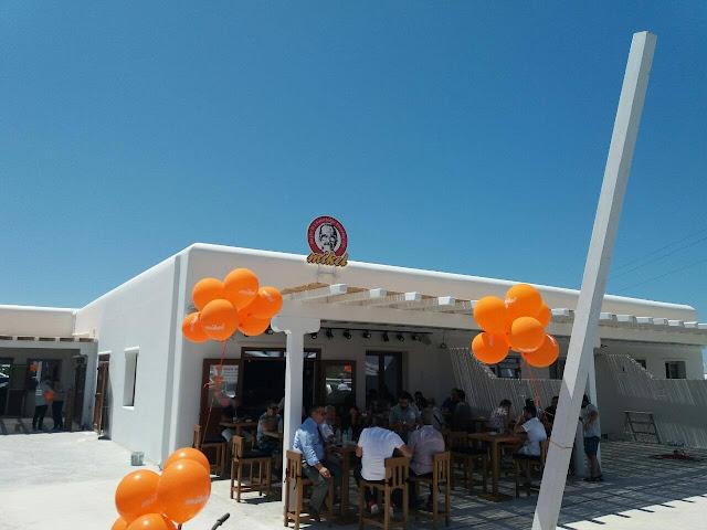 Το πρώτο κατάστημα της Λαρισαϊκής αλυσίδας Mikel που κατέκτησε την Ελλάδα άνοιξε τις πόρτες του στη Μύκονο με μεγάλη επιτυχία
