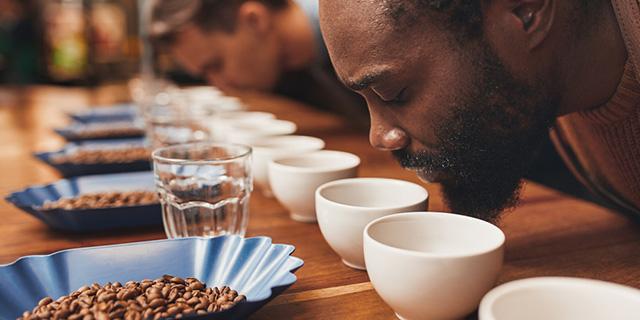 kahve tadimi yapimi, kahve bitiş tadımı, Www.KahveKafe.Net