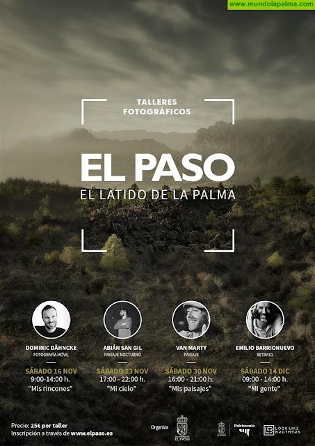 Los fotógrafos Dominic Dähncke, Abián San Gil, Emilio Barrionuevo y Van Marty participan en esta novedosa iniciativa en El Paso
