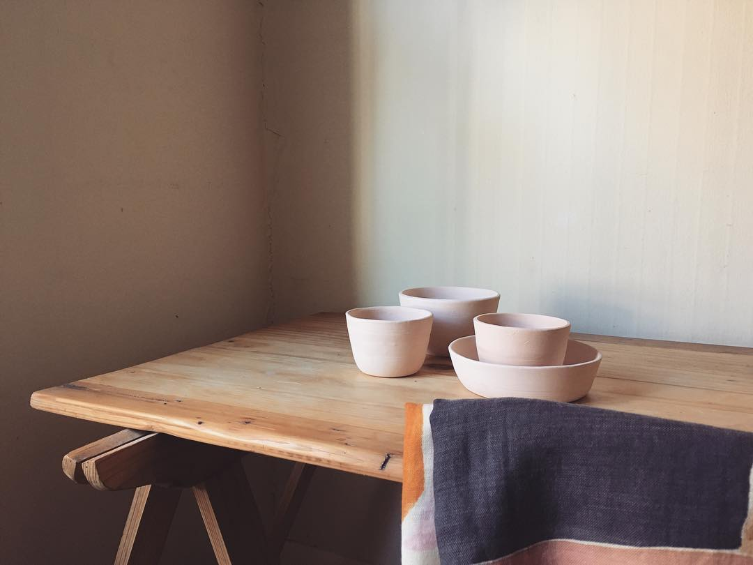 Melanie Channell's Soothing Ceramics.