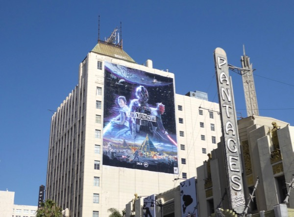 Star Wars Battlefront II EA Games billboard