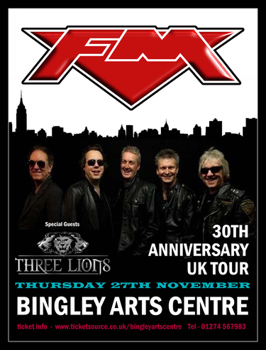FM at Bingley Arts Centre 27 Nov 2014 poster