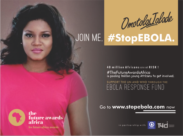 Omotola Jalade Ekeinde, Genevieve, Asa Join Campaign To Raise Funds For Ebola