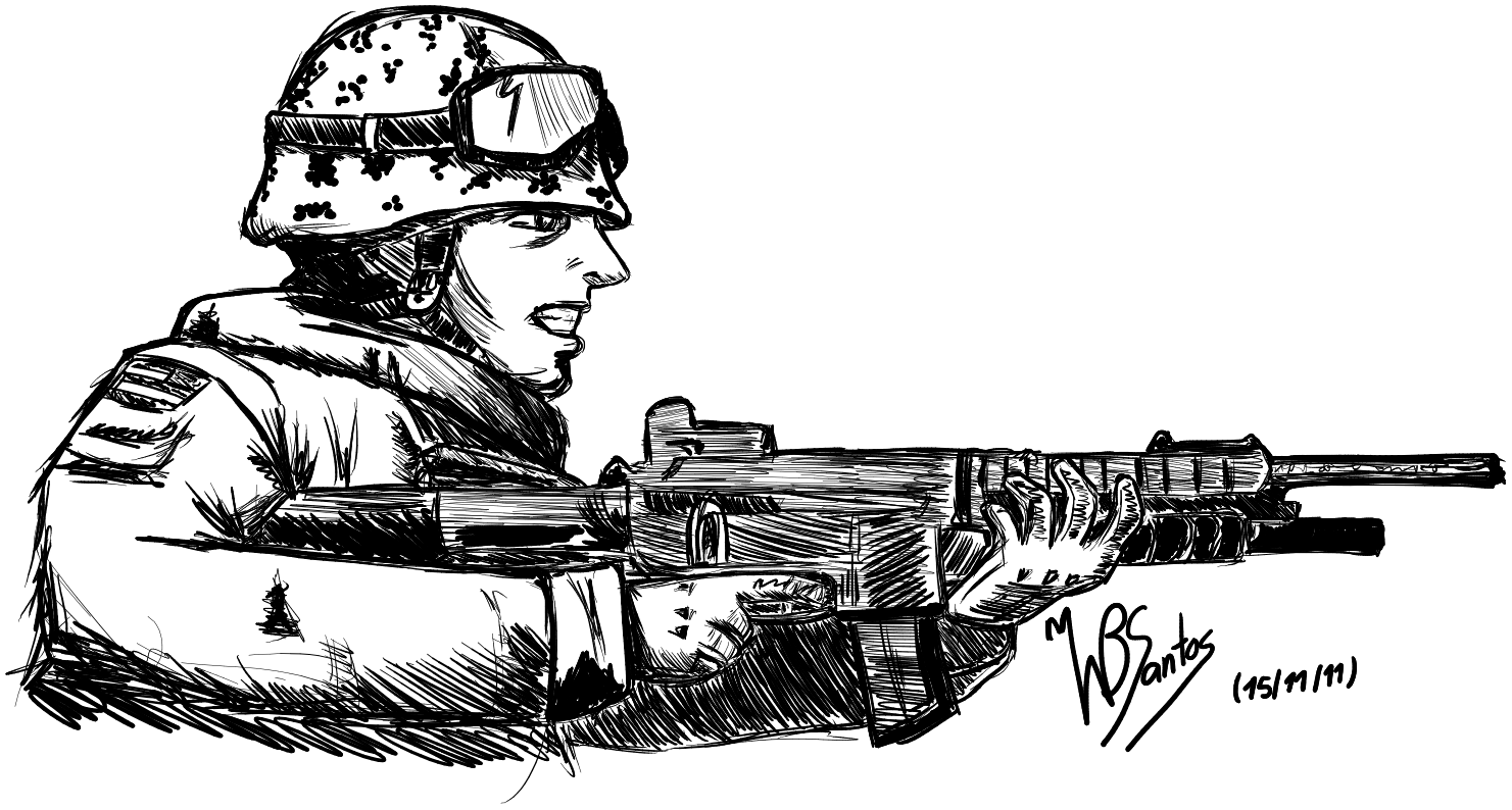 Mw3 Drawings Coloring Pages