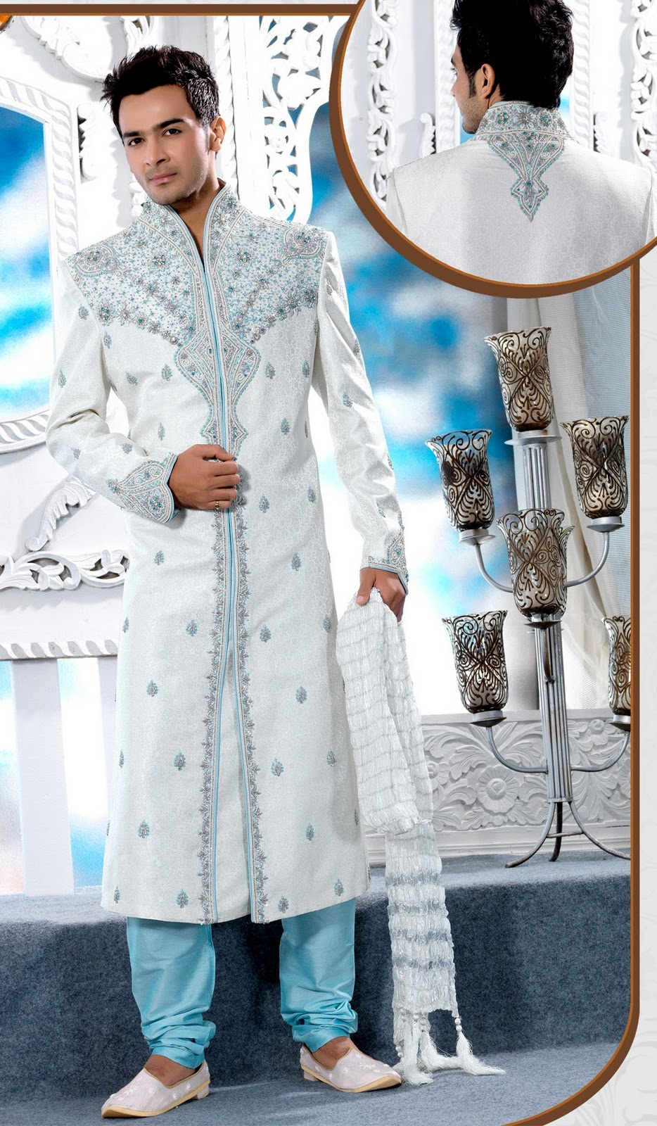 Wedding Sherwani And Kurta Pajama Collection 2012   Indian Sherwani ...