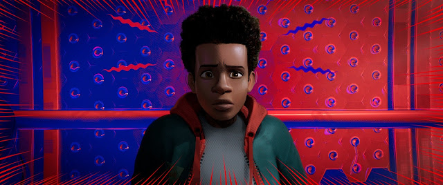 "Shameik Moore voices the role of Miles Morales in ""Spider-Man: Into the Spider-Verse."""