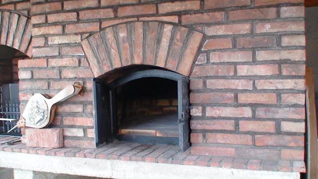 porte en fonte pour four à bosi et à pizza modèle Alsace