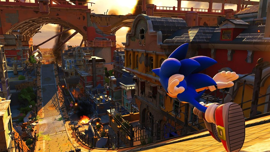 New Visuals From Sonic Forces Finds There Way Online.