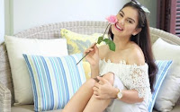 Irish Bella pemeran Bela di sinetron Rahmat Cinta SCTV