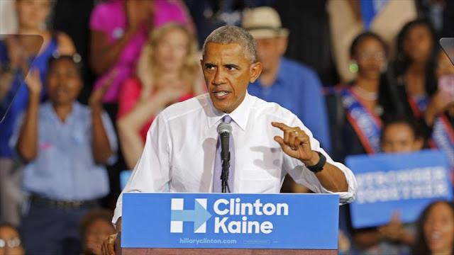 Obama: Trump socava democracia de EEUU al desafiar resultados