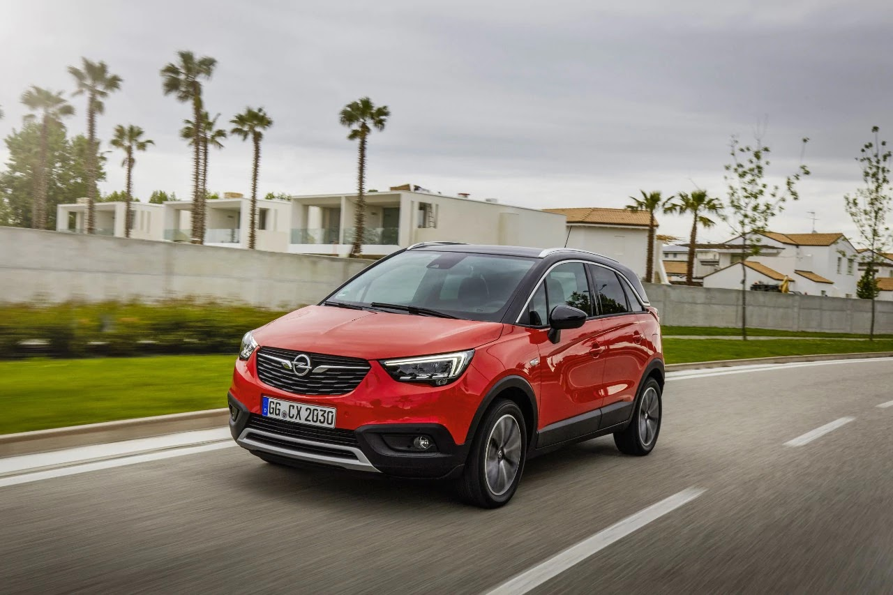Stop! Forward Collision Alert, ανίχνευση πεζού και Automatic Emergency Braking για το Opel Crossland X