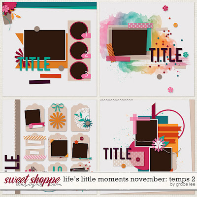 Life's Little Moments November: Temps 2