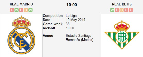 real madrid vs real betis live