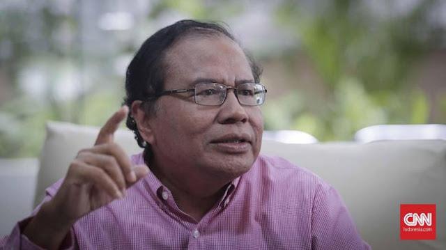 Rizal Ramli Bandingkan 'Pesta' Mewah IMF dan Duka Tsunami
