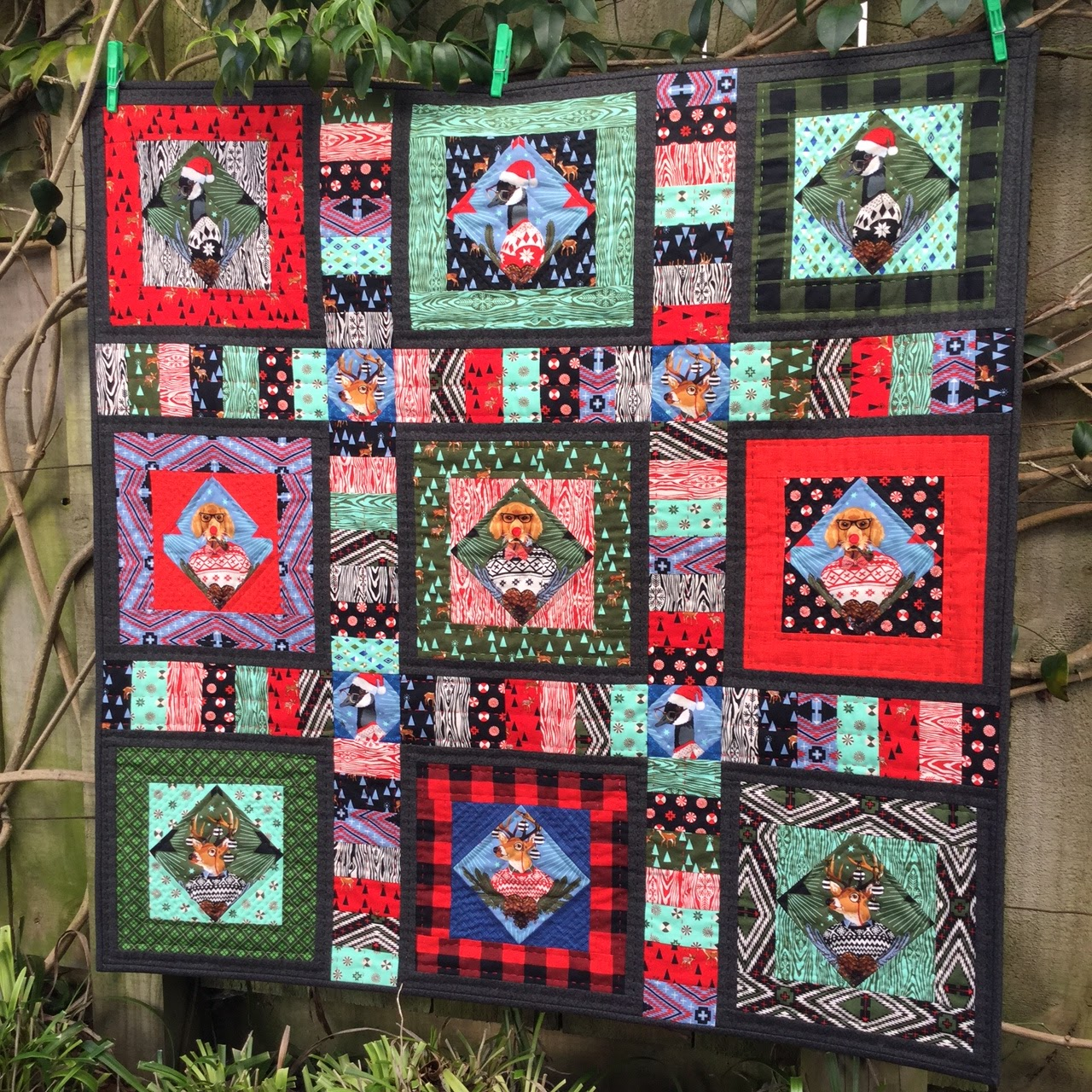 Wendy S Quilts And More Holiday Homies By Tula Pink