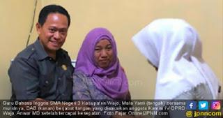 Laporan ke Polisi Dicabut, Guru Cubit Siswa Resmi Bebas Dari Status Terlapor