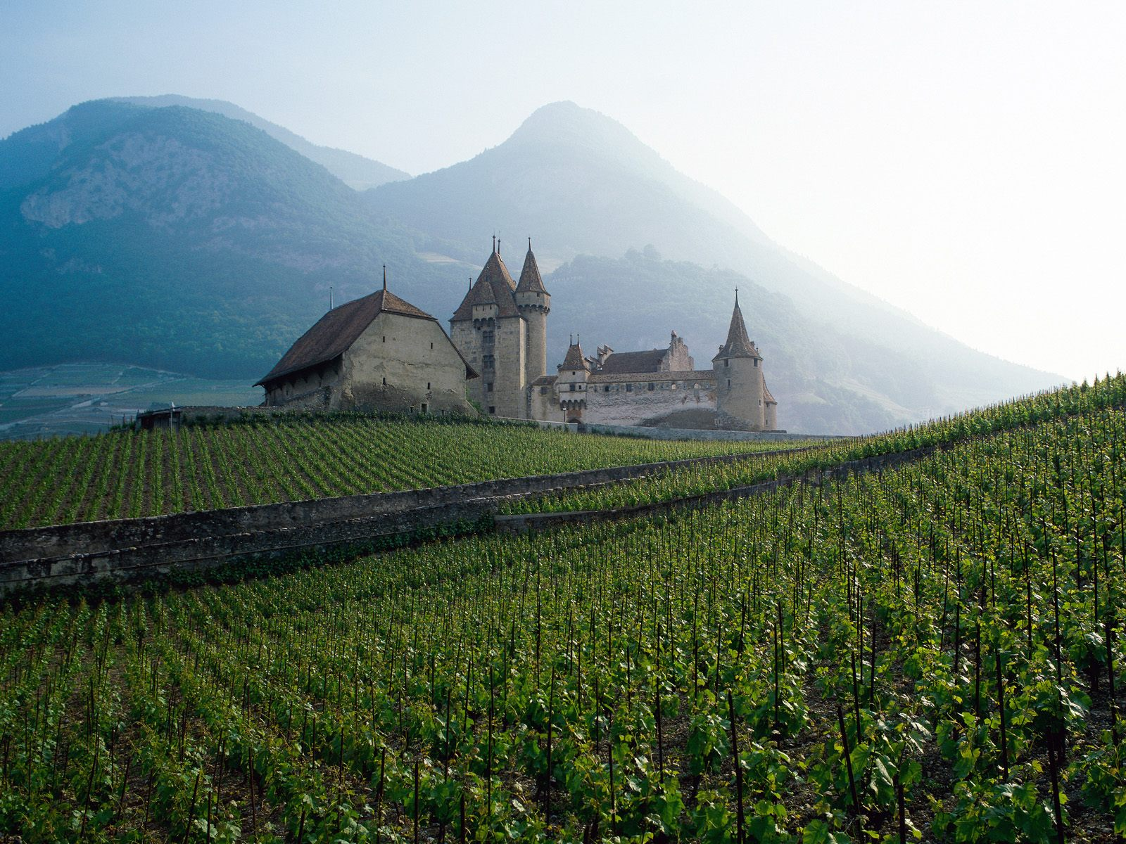 World visits switzerland culture and tourist attractions - House in the mountains ...