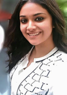 Keerthy Suresh in White Dress