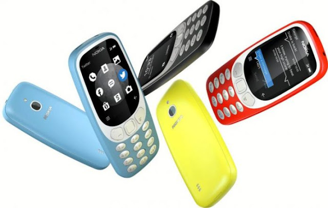 Nokia 3310 launches a 3G version of Nokia.