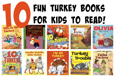 Fun Turkey Books for Kids to Read: Thanksgiving Books