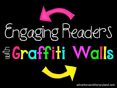 Graffiti walls are an effective way to boost reading engagement in your classroom.