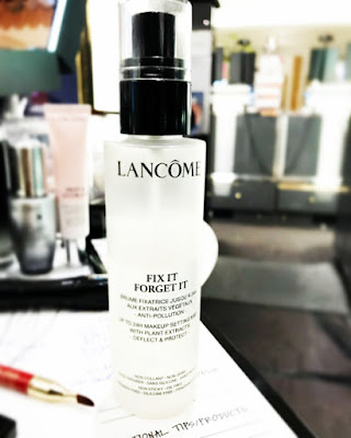 Fix it Forget It setting spray, Lancome setting Spray