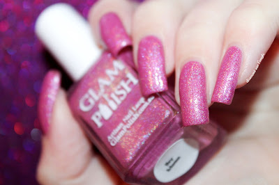 "Swatch of the nail polish ""Hey Mama"" from Glam Polish"