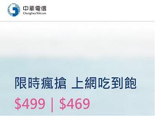 中華電信499吃到飽2018