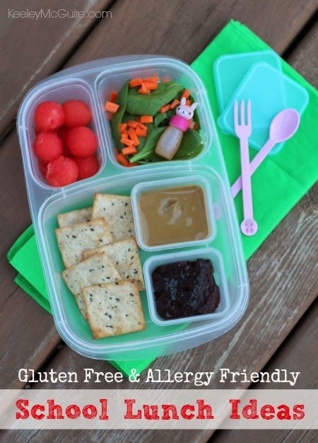 Gluten Free & Allergy Friendly: Lunch Made Easy: Homemade ...
