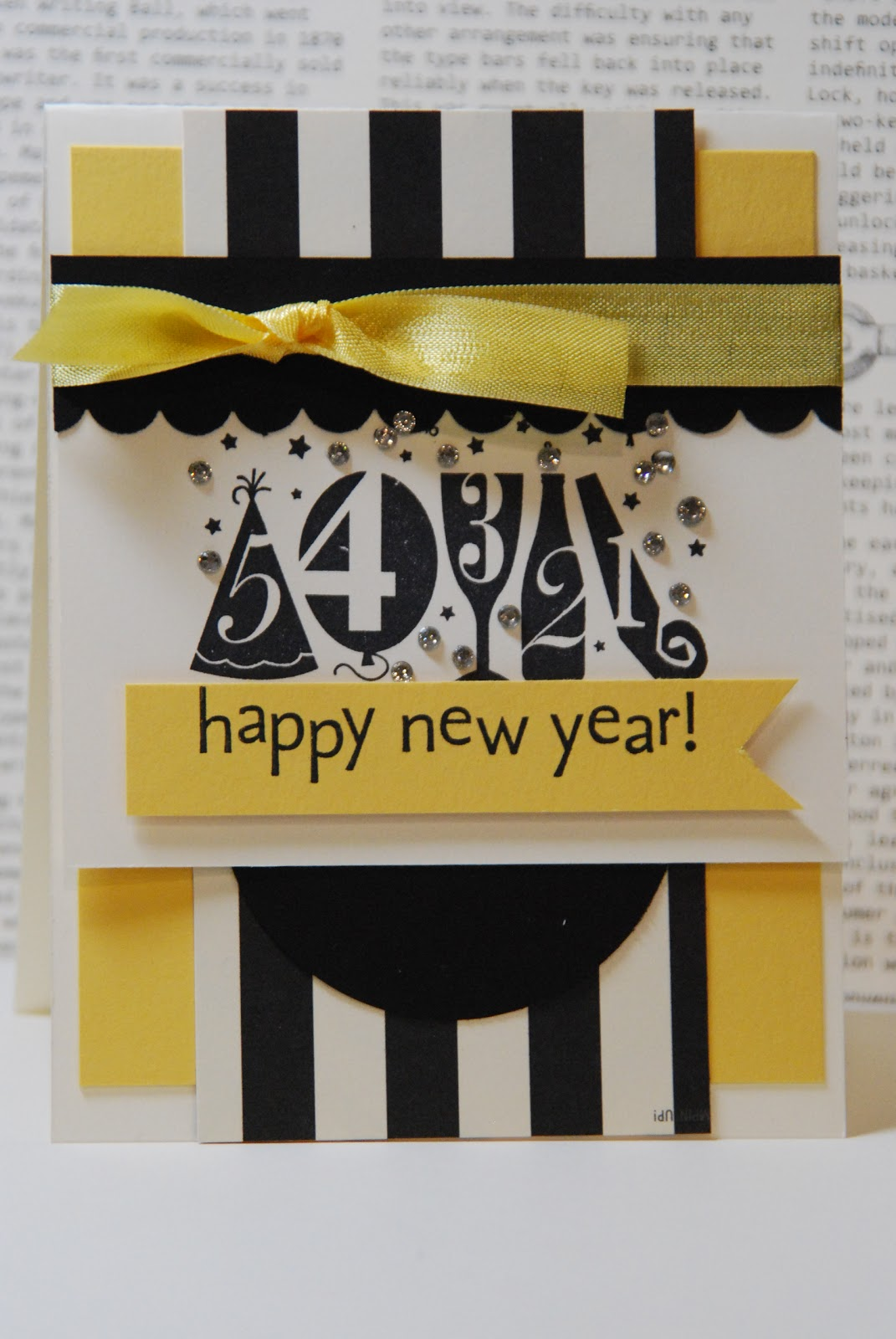 Dawn's Creative Chalet - Paper Crafting & More: Happy New ...