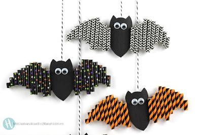 http://myhusbandhastoomanyhobbies.com/halloween-paper-straw-bats/