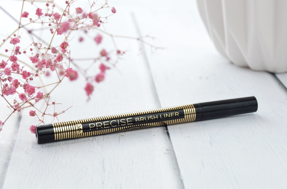 Eveline Cosmetics, Precise Brush Liner, eyeliner z precyzyjnym pędzelkiem