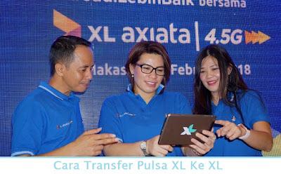 Cara Transfer Pulsa XL Ke XL (Termudah.com)
