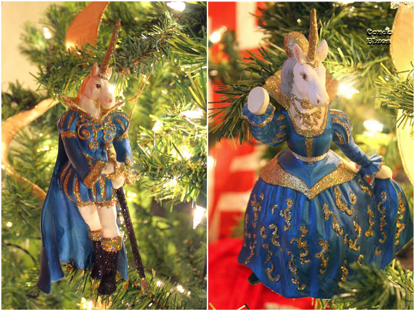 handmade photo ornament ideas - Condo Blues Renaissance Christmas Tree