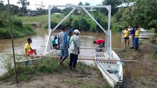 Flussturbine in Puerto Leguizamo