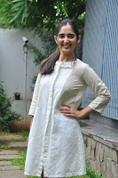 Radhika Cute Young New Actress in White Long Transparent Kurta ~  Exclusive Celebrities Galleries 067.JPG