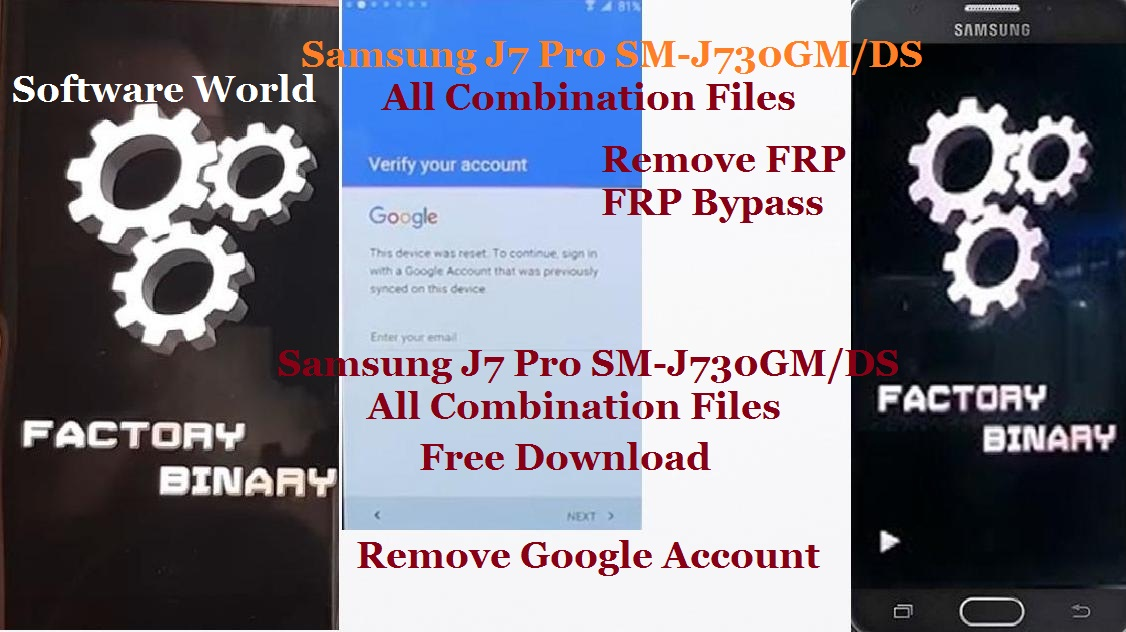 Samsung J7 Pro SM-J730GM/DS All Combination Firmware Free Download
