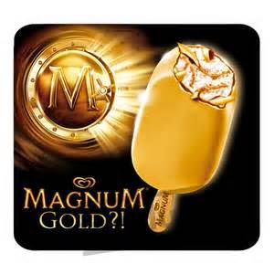 Ramblings Thoughts, Magnum Ice Cream, Ice Cream, Magnum Gold, Review, Video