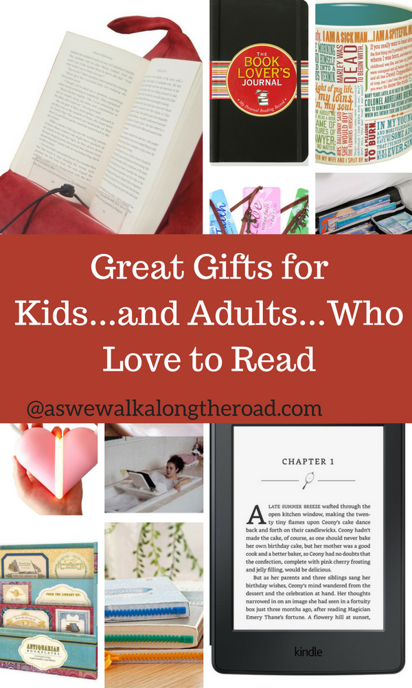 Gifts for kids and adults who love to read