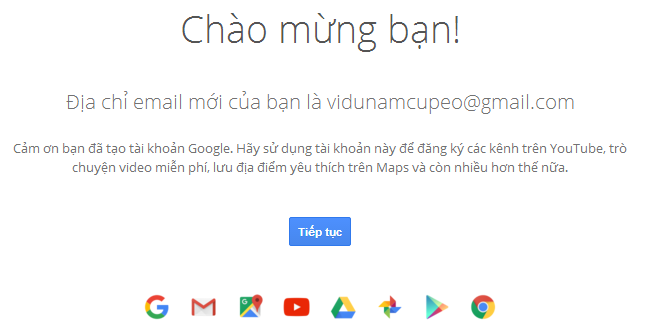 Hướng dẫn cách đăng ký tài khoản Google