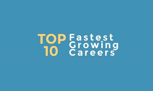 Top 10 Fastest Growing Careers