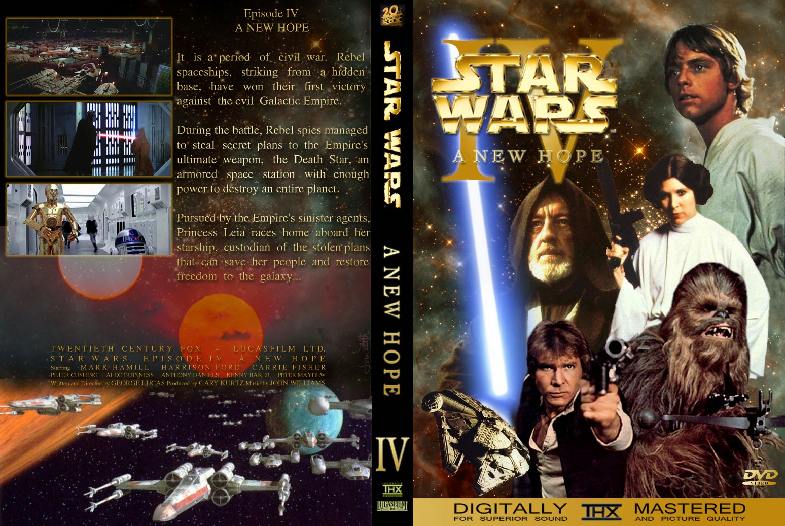 Star Wars Episode IV: A New Hope - DVD - Ultra Capas